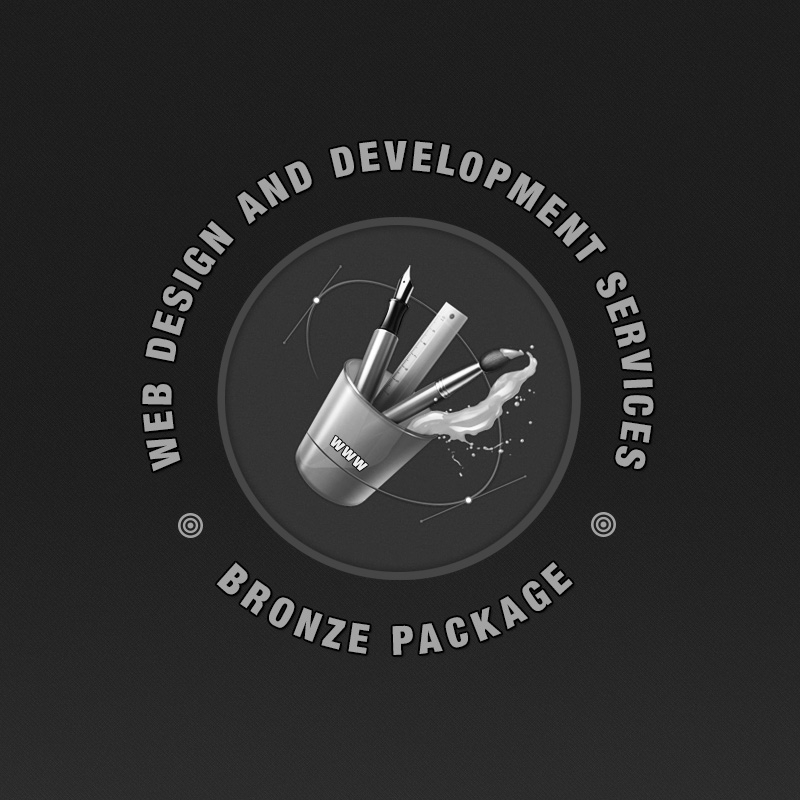 Web Design - Bronze Package